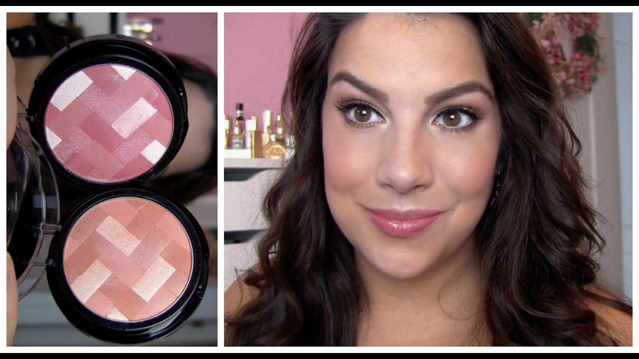 Maybelline Master Hi Light Blush Review Youtube