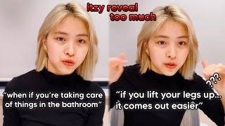 sometimes itzy reveal too much..