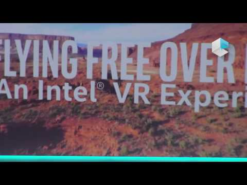 Intel CES 2017 - Cannonlake 10nm 2in1 notebook reference design and VR Virtual Reality experience