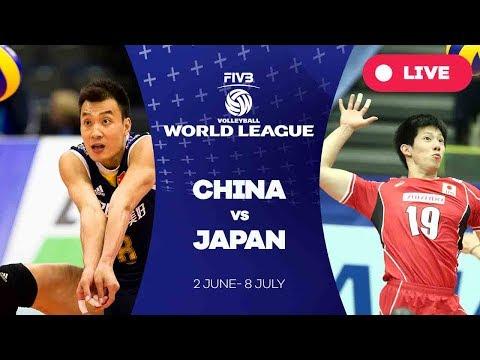 China v Japan - Group 2: 2017 FIVB Volleyball World League