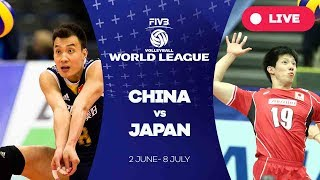 China v Japan - Group 2: 2017 FIVB Volleyball World League