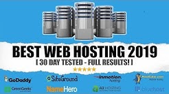 Best Web Hosting For WordPress 2019