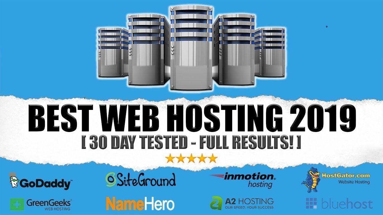 Best Web Hosting For Wordpress 2019