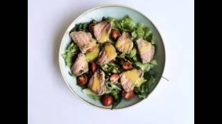 Салат с ростбифом от City-Zen cafe&bar