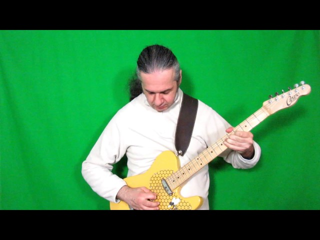 MARCELLO ZAPPATORE plays BLUES FOR NARADA by GARY MOORE