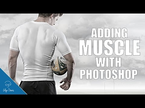 How to add MUSCLE with Photoshop: #95