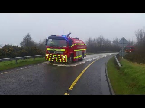 SPECIAL SERVICE CALL: Shannon Fire Service Tanker attending Oil-Spill