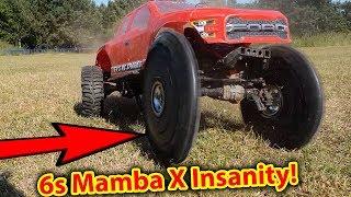 CRASH 6s 3800kv Castle Insanity In Traxxas TRX 4 60mph Crawler Challenge