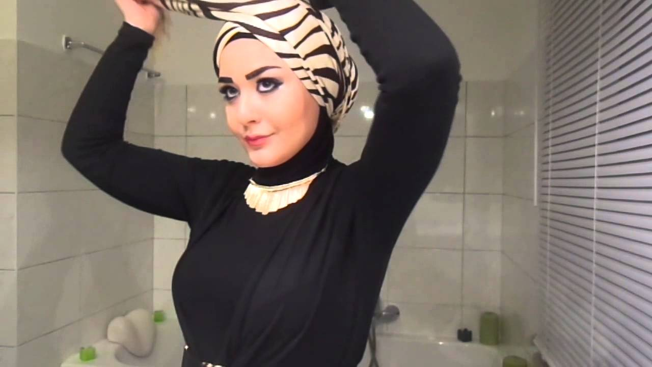Turban Hijab Tutorial (Style 2) - YouTube