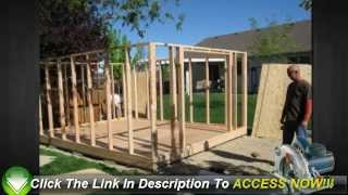 Tips For Cutting Cost When You Building A Garden Shed