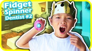 FIDGET SPINNER Dentist for Filling and Cleaning 2, Captain America, Family Dental - TigerBox HD