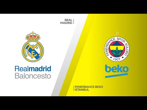 Real Madrid - Fenerbahce Beko Istanbul Highlights | Turkish Airlines EuroLeague, RS Round 10
