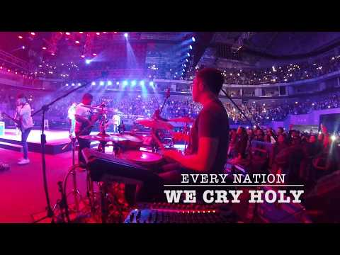 WE CRY HOLY (DRUM CAM) - EVERY NATION MUSIC