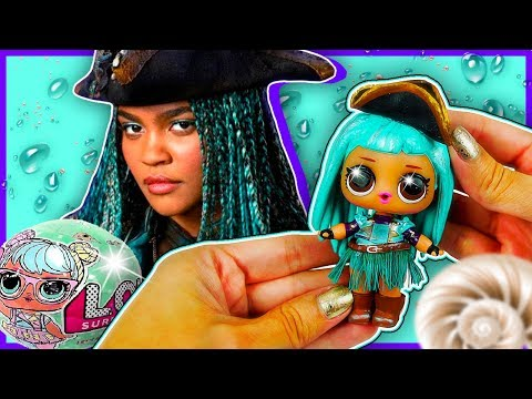DIY UMA DESCENDANTS 2 💖 CUSTOM LOL Surprise Doll | Toy Tutorial | Lil Outrageous Littles