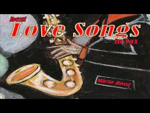 Love Songs On Sax: All Of Me, La Vie En Rose, New York New York, My Way... | Jazz Italiano