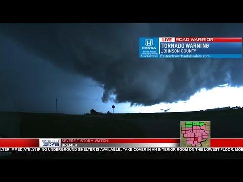 Cedar Rapids Severe Weather Coverage - 7/21/17