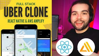 🔴  Build the Uber clone in React Native (Tutorial for Beginners)