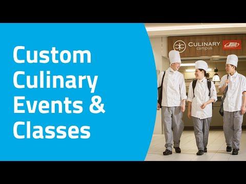 Custom Culinary Events & Classes