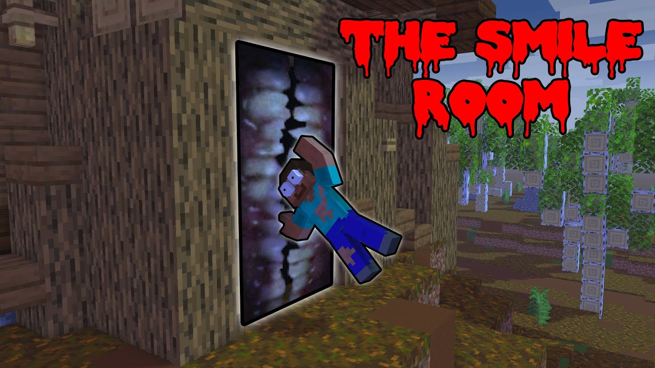 Monster School : (HORROR) THE SMILE ROOM IS ATTACKING MONSTER SCHOOL - Minecraft Animation