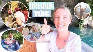 Mit Taxiboot zum Wasserfall 🛥 | Leona schnorchelt | Besuch Limone | Isabeau