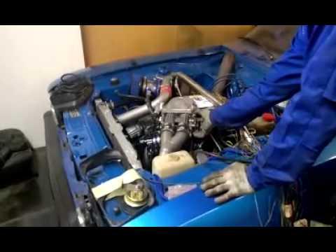 Ford Capri 2.9 V6 Turbo first start up