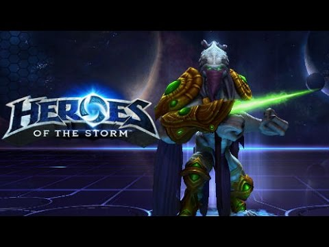 Heroes of the storm gameplay zeratul the dark templar - Heroes of the storm space lord leoric ...