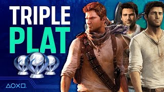 Uncharted: The Nathan Drake Collection - Three Platinum Trophies in One - PART 1