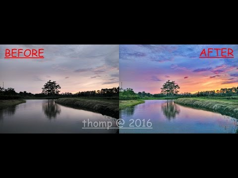 Tutorial Snapseed 1 2016 (How To Edit Photo Landscape With Snapseed )