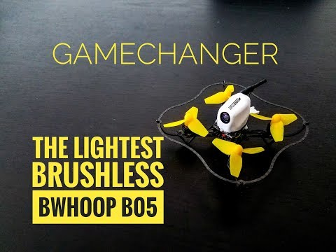 The *Lightest* Brushless Bind and Fly - Boldclash BWhoop B05 - It's amazing. Period.
