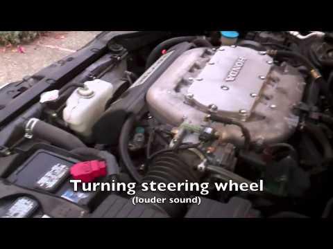 2004 Honda Accord Power Steering Problem - YouTube