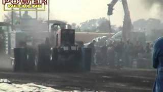 tractor pull  explosion  diesel