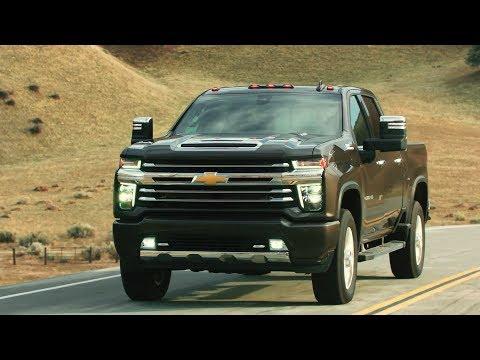 2020 Chevrolet Silverado HD – Exterior, Driving Footage