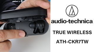 Audio-technica True Wireless ATH-CKR7TW (reseña)