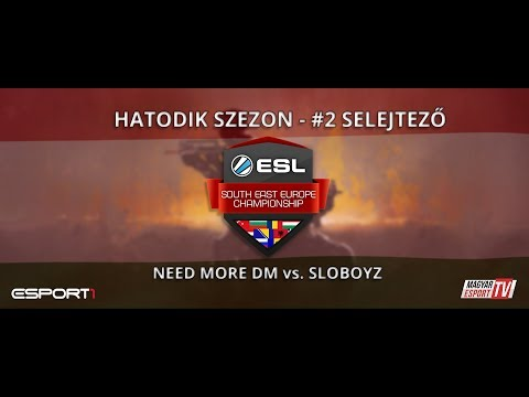 ESL SEC Season VI. CS:GO Qualifier #2 - NMD vs Sloboyz (cobble)