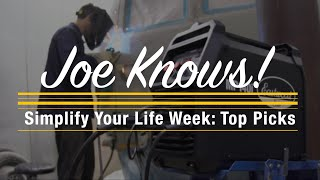 Joe Knows! Simplify Your Life Week: Make Life in the Shop Simple and Easy! Eastwood
