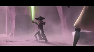 Star Wars: The Clone Wars - Quinlan Vos & Obi-Wan Kenobi vs. Cad Bane [1080p]