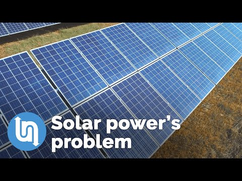 Solar Power has a big challenge