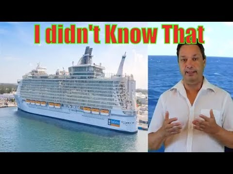 10 things I wish I knew about Royal Caribbean