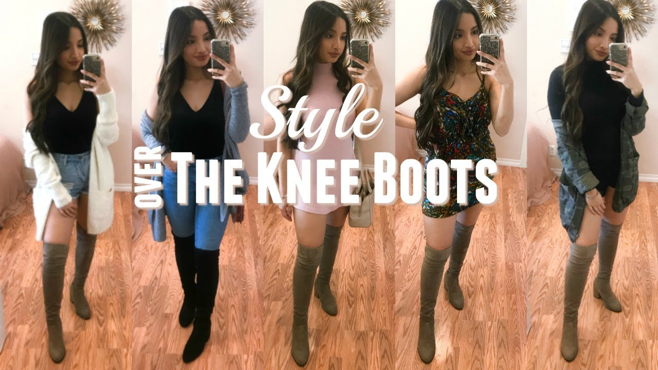 THE KNEE BOOTS/ THIGH HIGH BOOTS - YouTube
