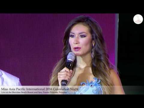 Part 9 - Miss Asia Pacific International 2016 Coronation Night