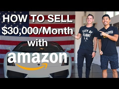 How to Sell $30,000/Month on Amazon FBA for Beginners! STEP by STEP