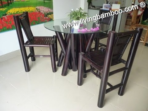 Bamboo Dining Sets