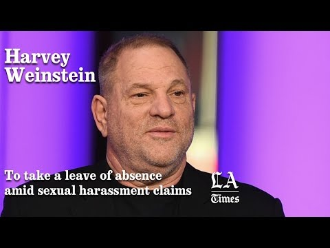 Harvey Weinstein To Take A Leave Of Absence Amid Sexual Harassment Claims   Los Angeles Times