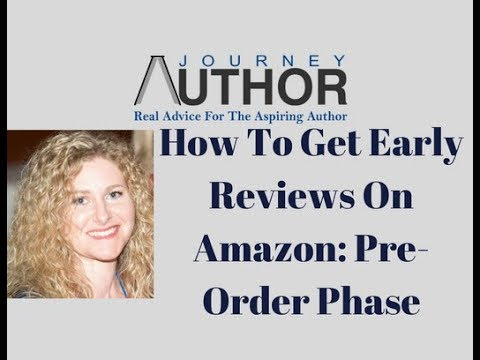 How To Get Early Book Reviews On Amazon For Pre-Order Books