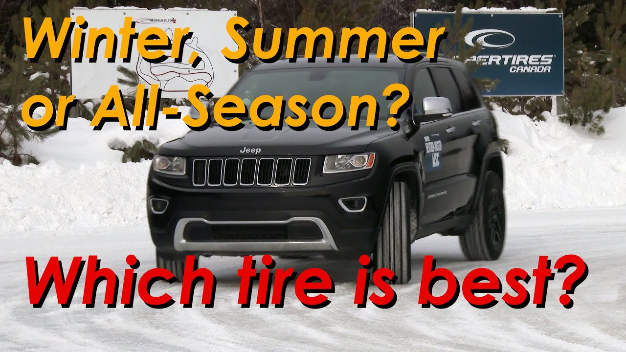 summer vs all season vs winter tires which is right for you youtube. Black Bedroom Furniture Sets. Home Design Ideas