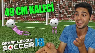 Junior Kaleci ! Türkiye'de Bir İlk 49 Cm Kaleci | Dream League Soccer 2018