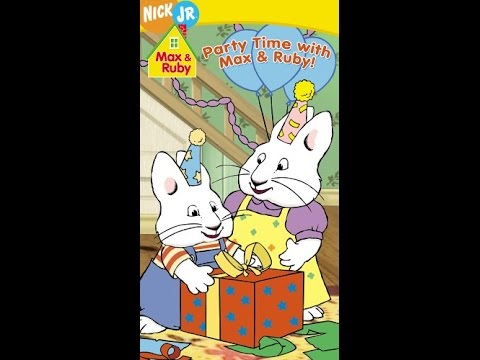 Opening to party time with max ruby extremely rare 2006 vhs opening to party time with max ruby extremely rare 2006 vhs sciox Gallery