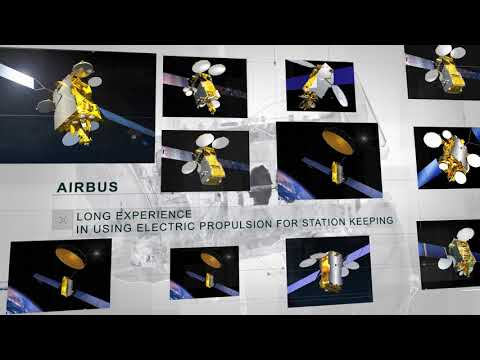Airbus defence and space telecommunications Electric satellite