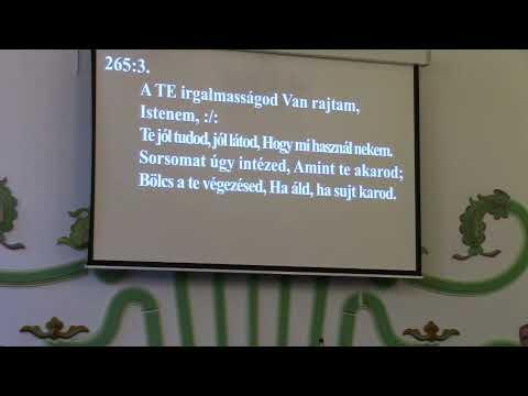 Bűnbánati istentisztelet_NyVREk_ 2020.05.30 18.00 élő