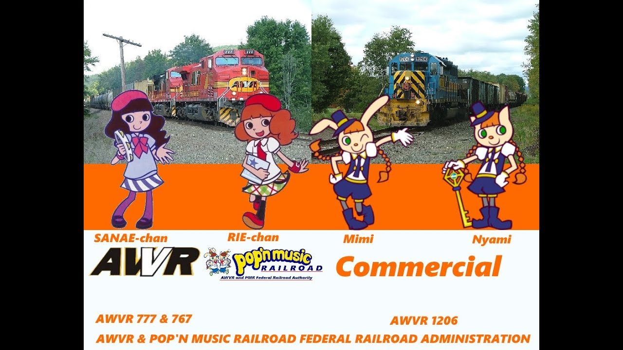 AWVR & Pop'n Music Railroad Federal Railroad Administration Commercial